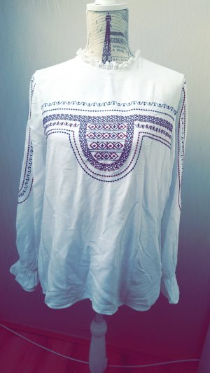Weiße Bluse aus Zara