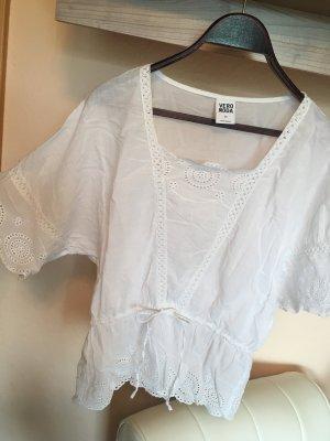 Vero Moda Ruche blouse wit