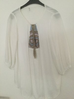 3 Suisses Long Sleeve Blouse white