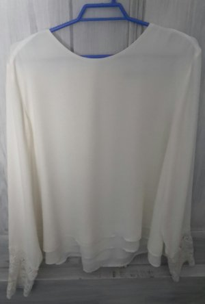 Orsay Blouse à enfiler blanc polyester