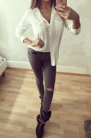 Weiße bluse gr. 34