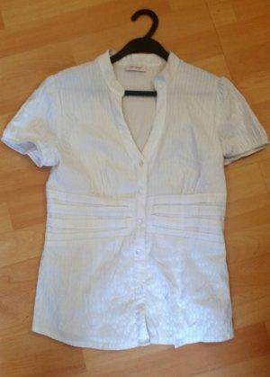 Weiße Bluse, Gr 40