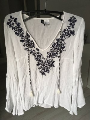 Weiße Bluse H&M