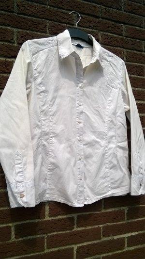 Weiße Bluse, Hemd, von Cecil, Größe L