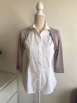 Weiße Bluse Im 2 Teiler Business Look von Brunello Cucinelli