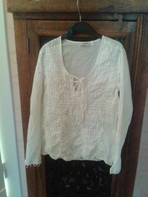 H&M Slip-over blouse wit Katoen