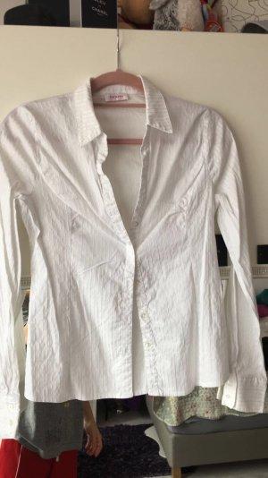 Weiße Bluse in der Größe 36 kaum getragen
