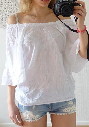 Weiße Bluse in der Größe38