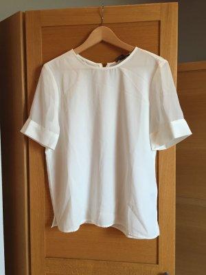 Weiße Bluse in tshirt form
