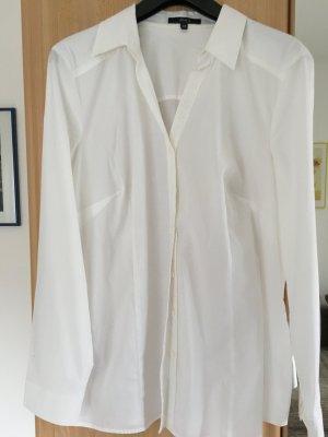 Weiße Bluse Langarm Bonita