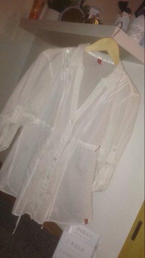 Weiße Bluse M Esprit