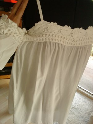 weiße Bluse made in Italy 38 PIANO C
