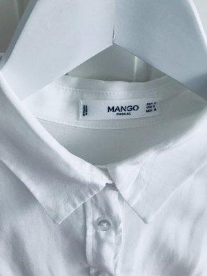 Weiße Bluse Mango