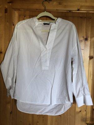 Weiße Bluse, Massimo Dutti