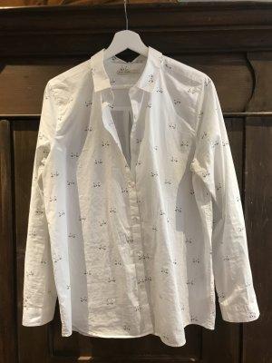 armedangels Blusa-camisa blanco-negro