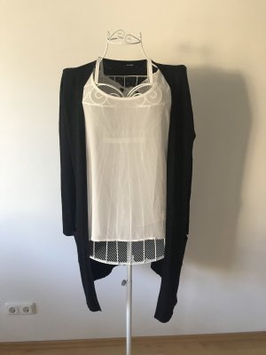 Forever 21 Mouwloze blouse wit