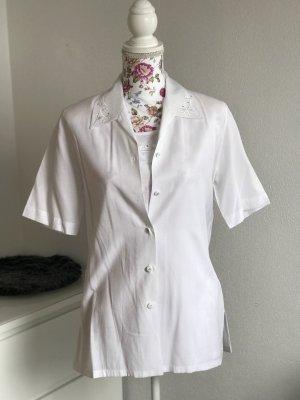 Weiße Bluse mit Top