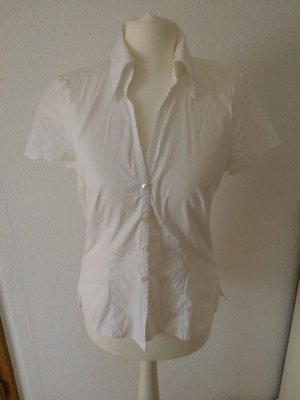 Weiße Bluse, More&More, 36