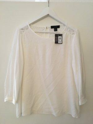 weiße Bluse / Oberteil, neu