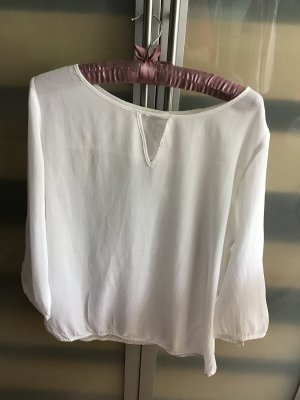 Weiße Bluse OPUS