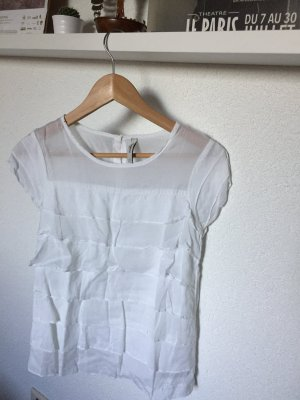 Weiße Bluse, Pepe Jeans, Gr. S