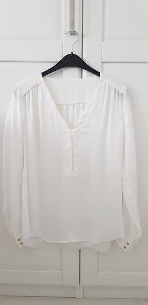 Weiße Bluse S