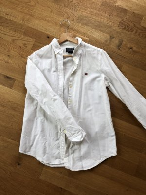 Weiße Bluse slim fit Ralph Lauren