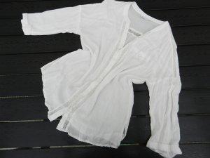 Weiße Bluse - Spitze - PROMOD - M