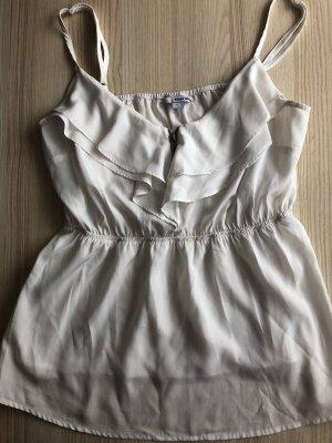 Tally Weijl Ruche blouse wit