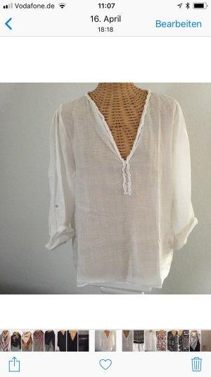 Weiße Bluse / tunika von Zara