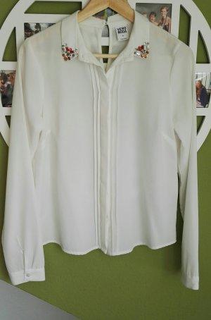 Weiße Bluse Vero Moda