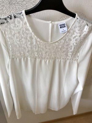 Weiße Bluse Vero Moda Größe 38