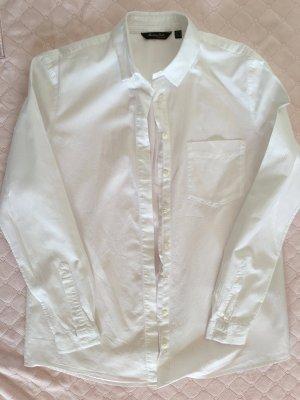 Weiße Bluse vom Massimo Dutti