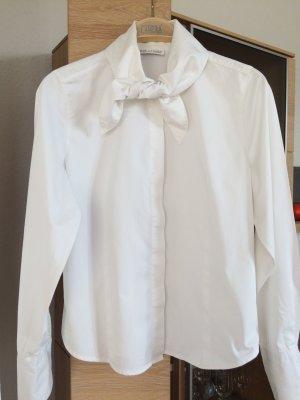 Weiße Bluse von B.M. Company Blousemakers