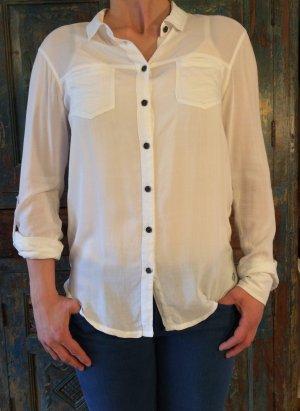 Weiße Bluse von Bench, Gr. M