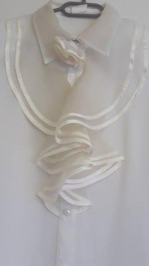 Weiße Bluse von C & A