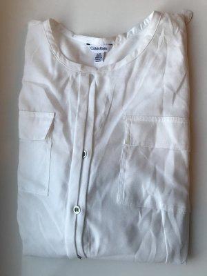 Weiße Bluse von Calvin Klein