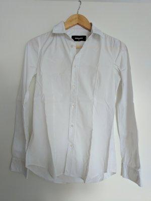 Weiße Bluse von Dsquared2