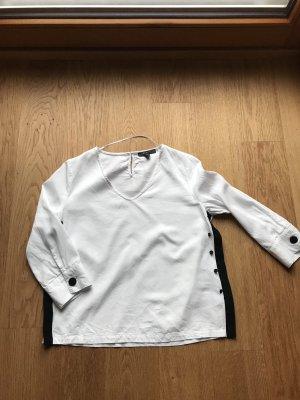 Weiße Bluse von Esprit Gr S