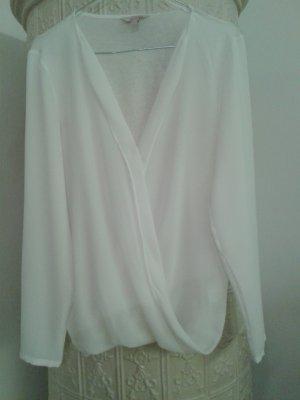 weiße Bluse von Esprit Größe 34