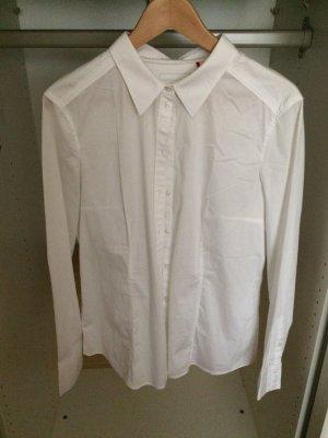 Weiße Bluse von Esprit mit leichtem Stretchanteil