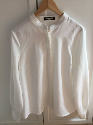 weiße Bluse von Fashion Union