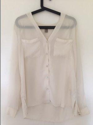 weiße Bluse von Forever21