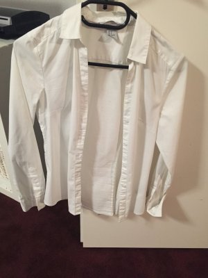 Weiße Bluse von H und M