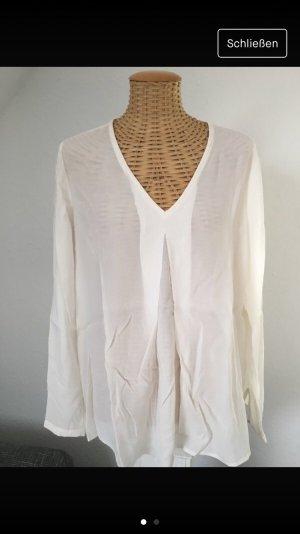 Weiße Bluse von Hallhuber