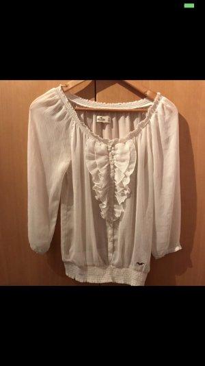Weiße Bluse von Hollister