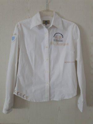 weiße Bluse von La Martina