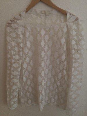Weiße Bluse von Maje