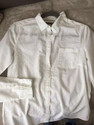 Weiße Bluse von Mango