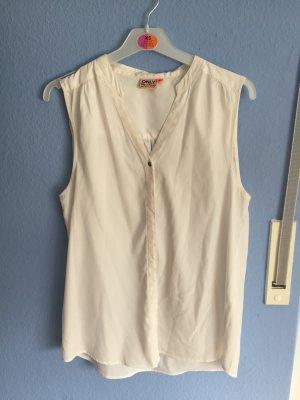 Weiße Bluse von Only